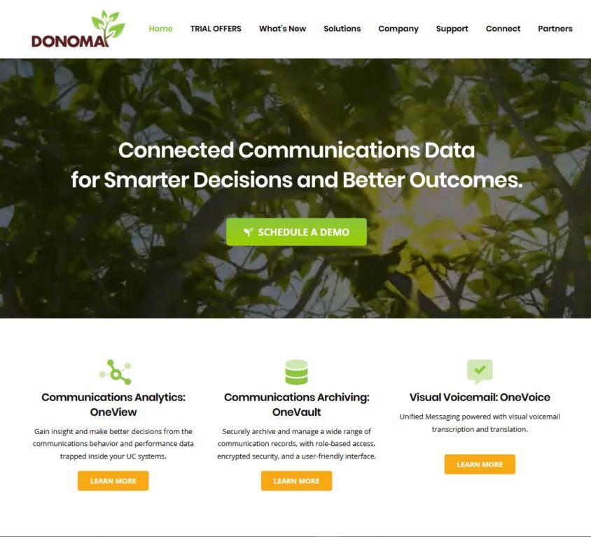 Donoma Software – Website