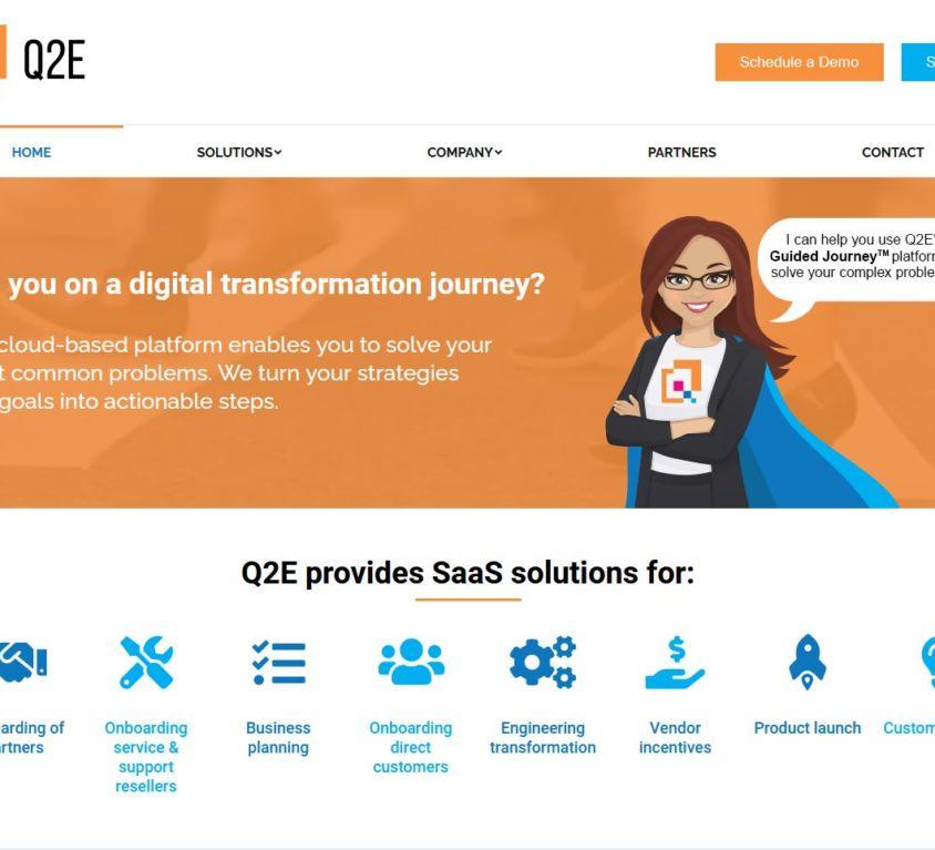 Q2E – Website